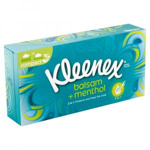 KLEENEX Mentolové papírové kapesníčky 72 ks