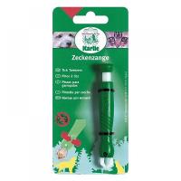 KARLIE FLAMINGO Kleště na klíšťata plast zelené 1 kus