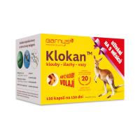 KLOKAN klouby, šlachy, vazy 150 tablet expirace 02/2021
