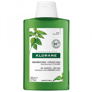 KLORANE Šampon s kopřivou mastné vlasy BIO 200 ml