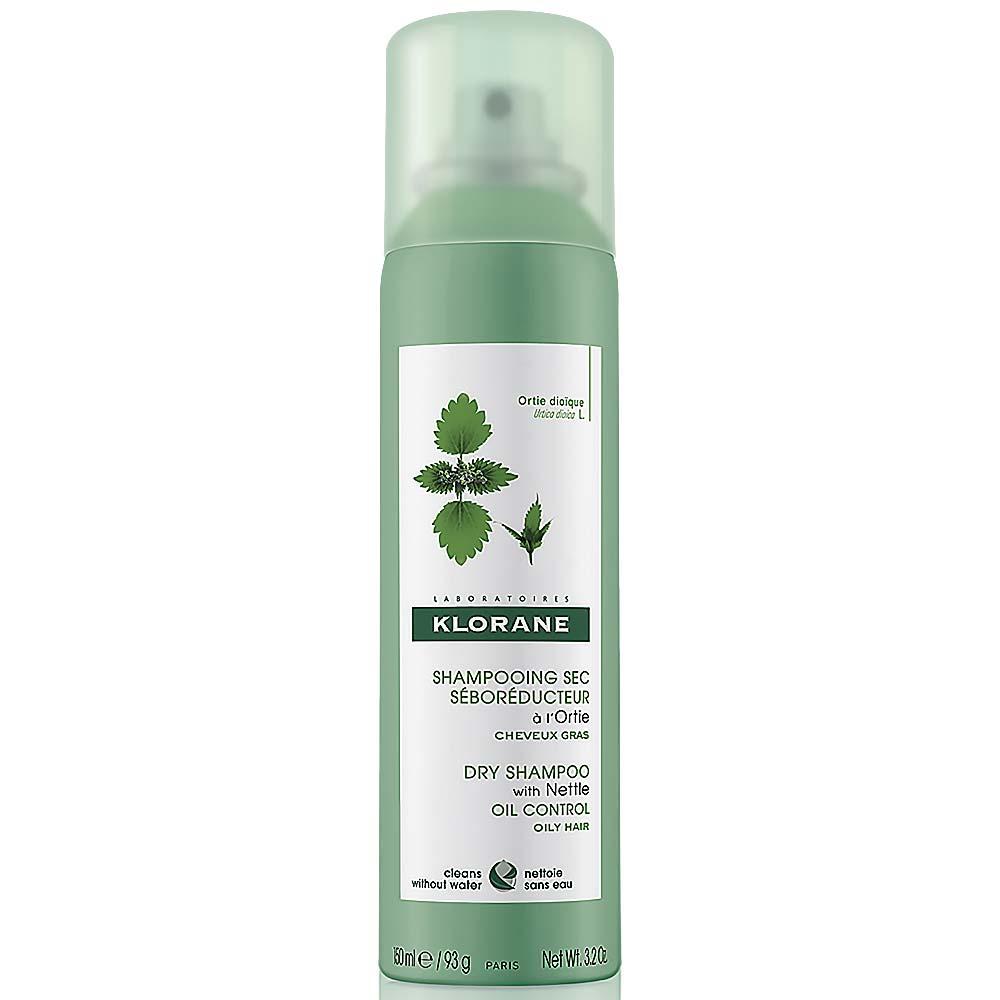 KLORANE Ortie dry shampoo 150ml suchý šampon mastné vlasy