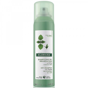 KLORANE Suchý šampon s kopřivou pro mastné vlasy 150 ml