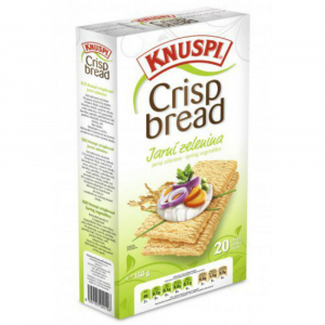 KNUSPI Crispbread jarní zelenina 150 g