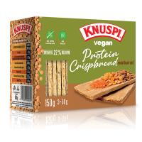 KNUSPI Vegan protein crispbread natural 150 g