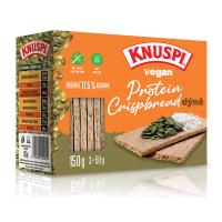 KNUSPI Vegan protein crispbread dýně 150 g