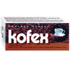 NATURVITA Kofex přírodní kofein + guarana 80 tablet