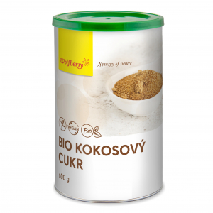 WOLFBERRY Kokosový cukr 600 g BIO