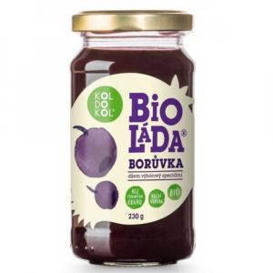 KOLDOKOL Bioláda borůvky 230 g BIO