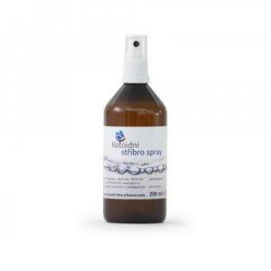 Koloidní stříbro sprej 200 ml 20 ppm