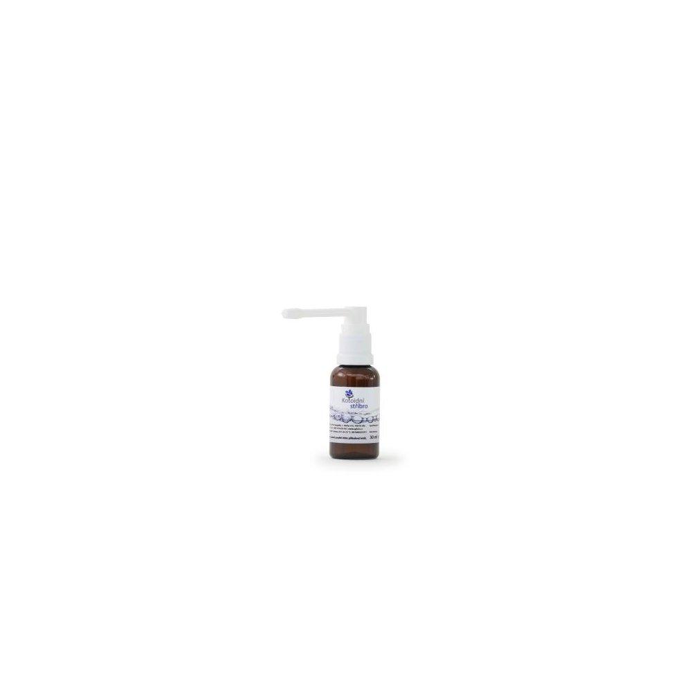 Koloidní stříbro sprej 30 ml 10 ppm -ušní aplikátor