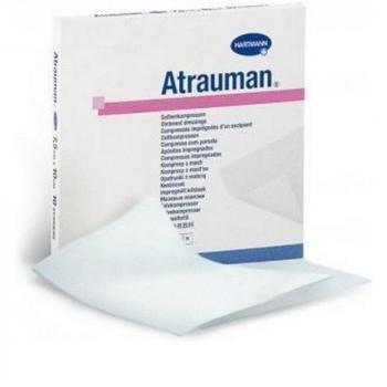 ATRAUMAN Sterilní komprese 5x5 cm 10 kusů
