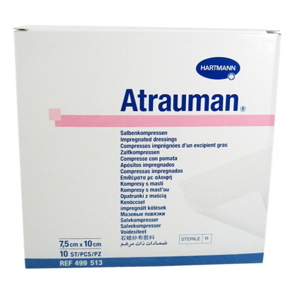 HARTMANN-RICO Kompres Atrauman ster.7.5x10cm/10ks