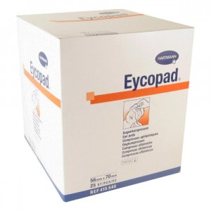 Kompres Eycopad ster. 56 x 70 mm / 25 ks 4155407