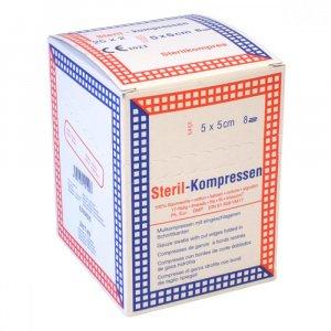Kompres gáza krabička ster.5x5cm/25x2 Steriwund