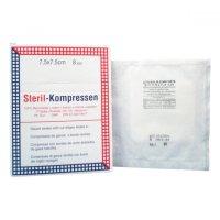 Kompres gáza krabička ster7.5x7.5cm/25x2 Steriwund