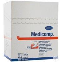 Kompres Medicomp nester.7.5x7.5cm/100ks 4218233