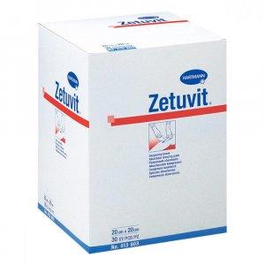 KOMPRES ZETUVIT nesterilní 20x20 cm/30 ks