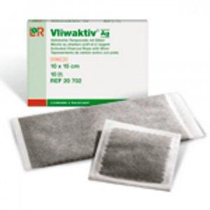 Komprese Vliwaktiv Ag 6.5 x 10 cm sterilní 10 ks