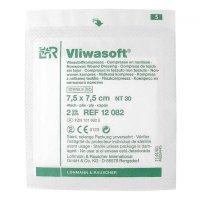 Komprese Vliwasoft sterilní 7.5x7.5cm/4v 2 ks