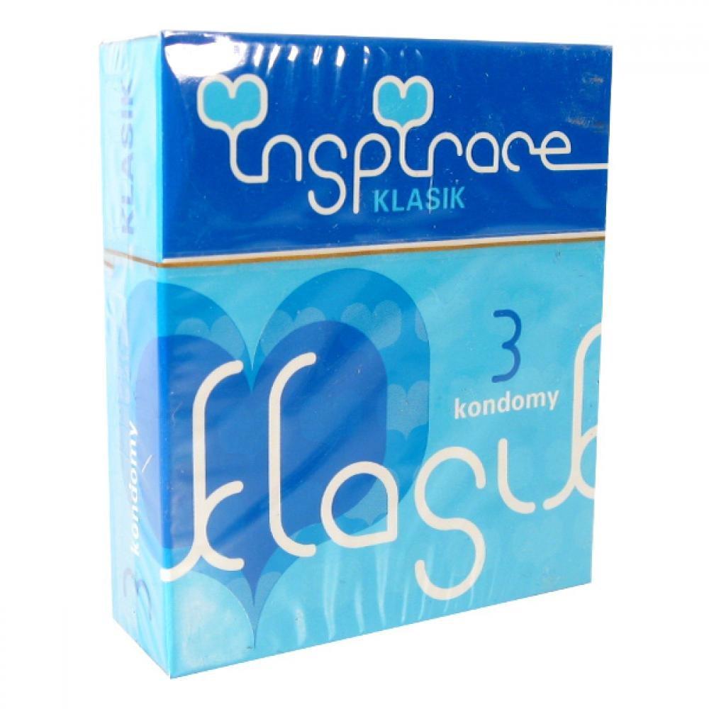Kondomy INSPIRACE Klasik 3ks