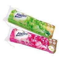 LINTEO Vatové polštářky Premium s heřmánkem 80 kusů