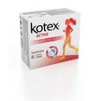 KOTEX Tampony Active Super 8 ks
