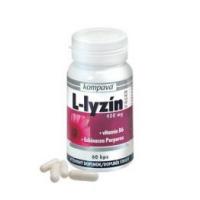 KOMPAVA L-lyzín extra 400 mg 60 kapslí