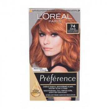 L'ORÉAL Féria Préférence Barva na vlasy pro ženy 60 ml Odstín: 74 Mango