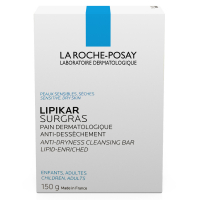 LA ROCHE-POSAY Lipikar Surgras Tuhé mýdlo 150 g