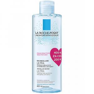 LA ROCHE-POSAY Micelární voda Ultra pro velmi citlivou až reaktivní pleť 400 ml