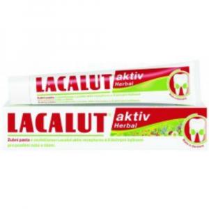 LACALUT Aktiv Zubní pasta Herbal 75 ml