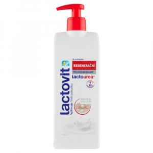 LACTOVIT Lactourea tělové mléko regenerační 400 ml