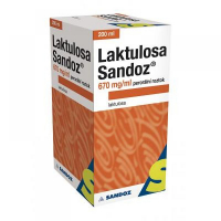 LAKTULOSA SANDOZ 670 mg/ml Roztok 200 ml/134g IIA