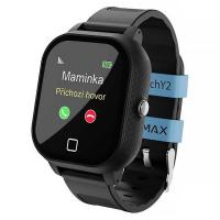 LAMAX WatchY2 Black dětské chytré hodinky s GPS černé