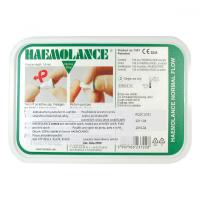 Lancety Haemolance 100 kusů - pro dospělé (zelené) 2703