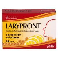 FAVEA Larypront s propolisem a citrónem 24 tablet
