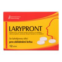 FAVEA Larypront se šalvějovou silicí 12 tablet
