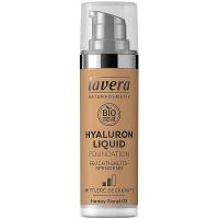 LAVERA Lehký tekutý make-up skyselinou hyaluronovou – 03 medová 30 ml