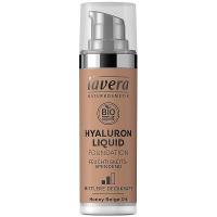 LAVERA Lehký tekutý make-up skyselinou hyaluronovou – 04 béžová 30 ml