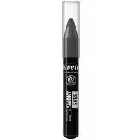 LAVERA Matné kouřové stíny v tužce – černá 3,1 g