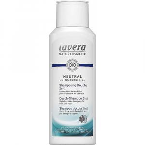 LAVERA Neutral Ultra Sensitive Sprchový šampon na tělo a vlasy 2 v 1 200 ml
