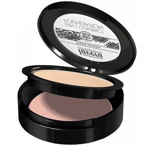 LAVERA Pudrový make-up 2 v 1 – 01 slonová kost 10 g