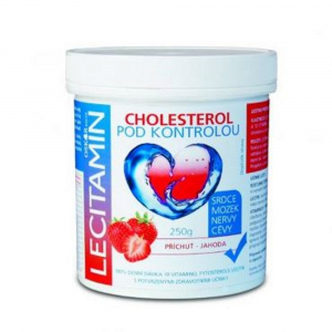 LECITAMIN Lecitamin-lecitino-proteinový nápoj Jahoda 250 g