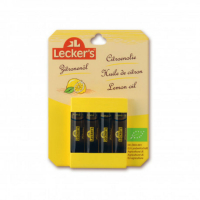 LECKER´S Citronové aroma BIO 4 x 2 ml