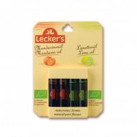 LECKER´S Limetkové a mandarinkové aroma BIO 4 x 2 ml