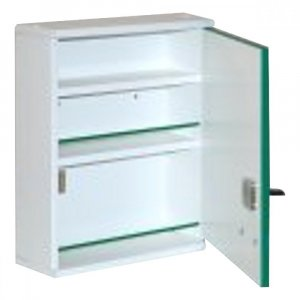 ALFA VITA Lékárnička dřevěná ALFA A300 závěsná 37x30x10