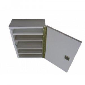 Lékárnička bílá dřevěná 43x30x14cm prázdná Steriwund