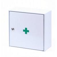 ŠTĚPAŘ Nástěnná kovová lékárnička ZM10 s náplní do 10 osob