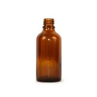 DR. KULICH Lékovka bez víčka do 50 ml 18 mm hnědá 20000139 1 kus