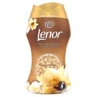 LENOR Unstoppables Gold Orchid Vonné perličky do praní 140 g